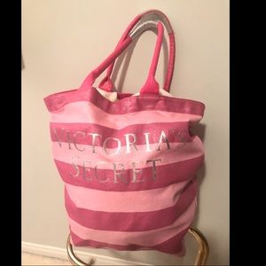 Victoria secret tote/ weekender/ storage basket